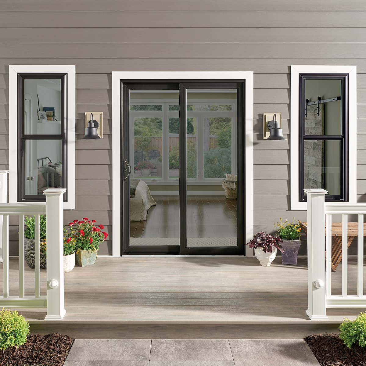Vinyl Sliding Glass Door Mi Windows And Doors
