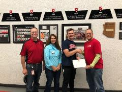 Alex Reinert Receives MI Foundation Scholarship