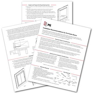 Installation Guides | MI Windows and Doors