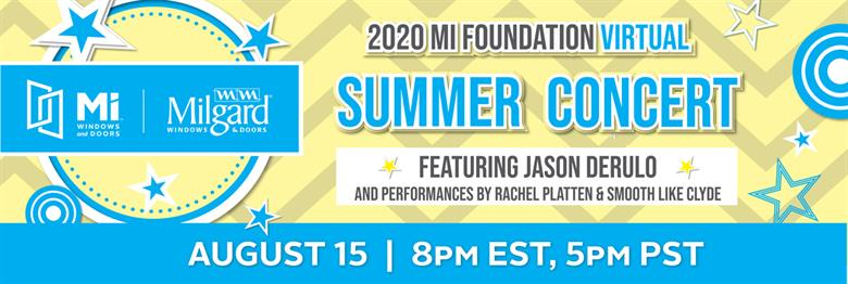 MI Summer Concert featuring Jason Derulo and Rachel Platten