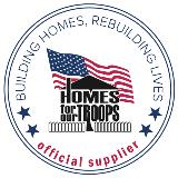 Homes for our Troops Official Supplier logo