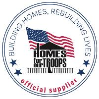 Official Supplier of Homes for our Troops