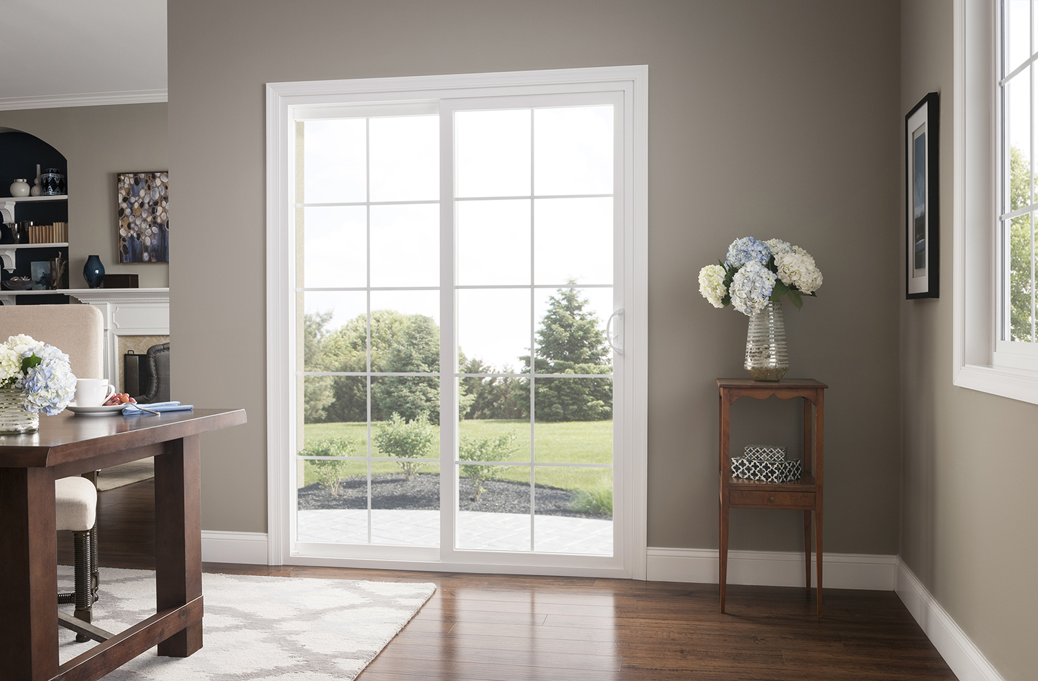 Mi Homemaker3 390 Sliding Glass Door In Living Room